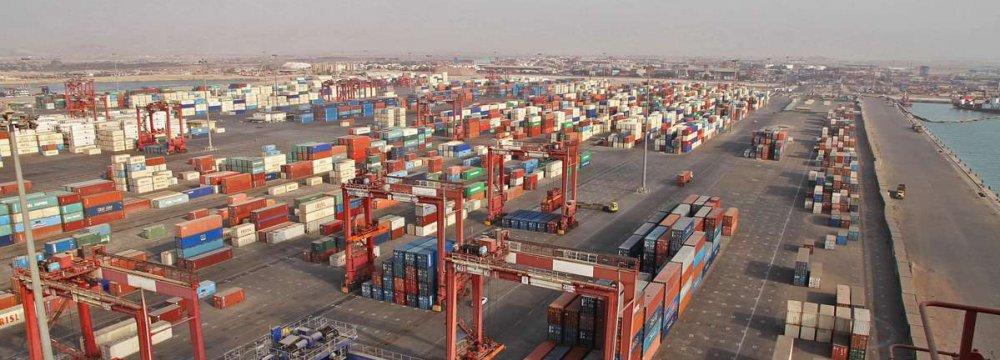 African Envoys Tour Shahid Rajaee Port