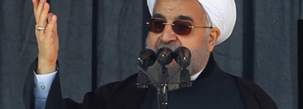 Rouhani Extends Christmas Felicitations