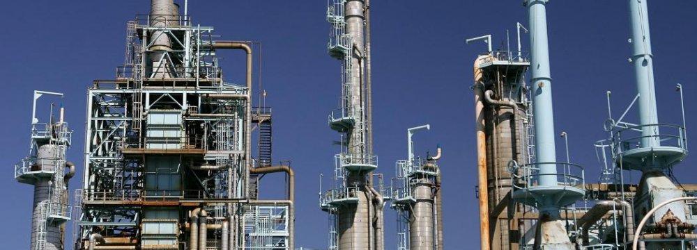 Oil Leak at Refinery