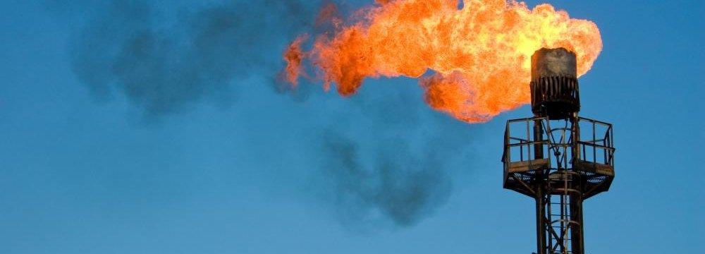 Abadan Refinery Utilizing Flares