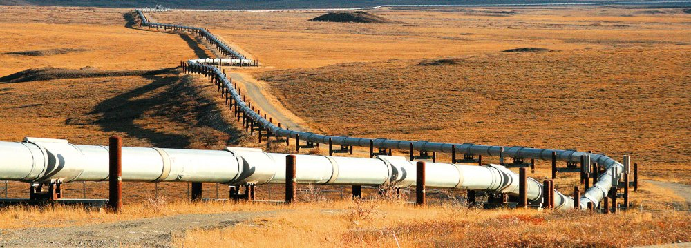 Gas Pipeline to  Europe Likely