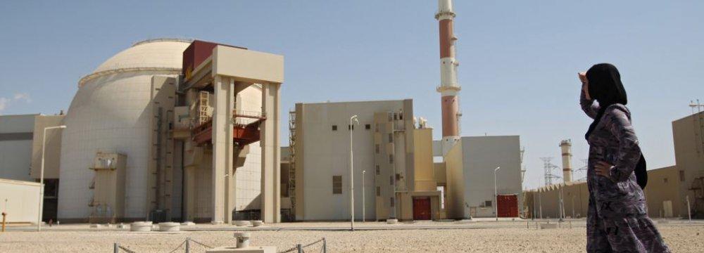 Bushehr Power Generation at 11b kWh