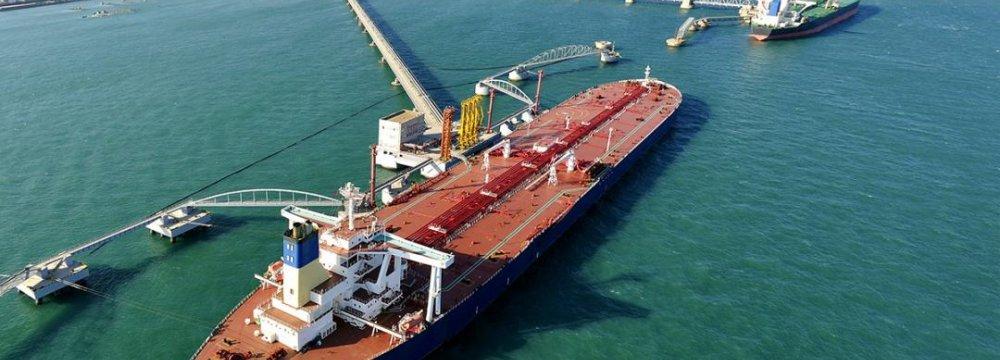 China's Iran Crude Imports Up
