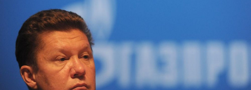 European Energy Policy Shortsighted: Gazprom CEO