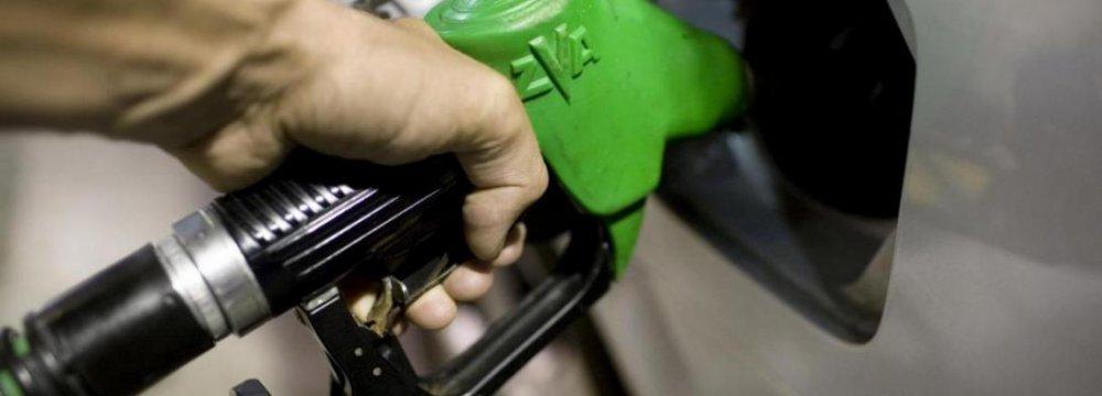 Gasoline 10,000 Rials/Liter