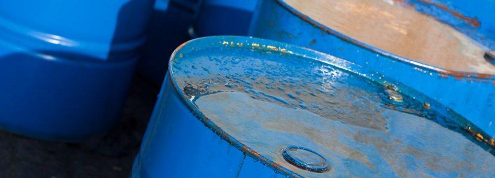 Iran Oil Dips Below $50