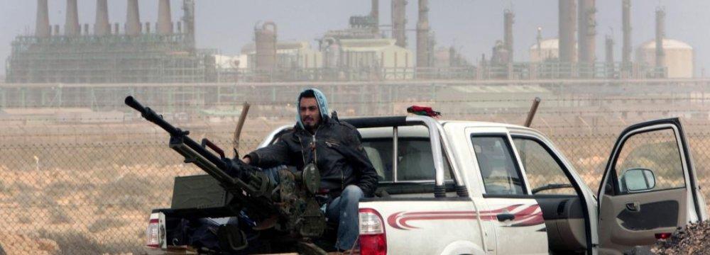 Oil Export Halted in Libya