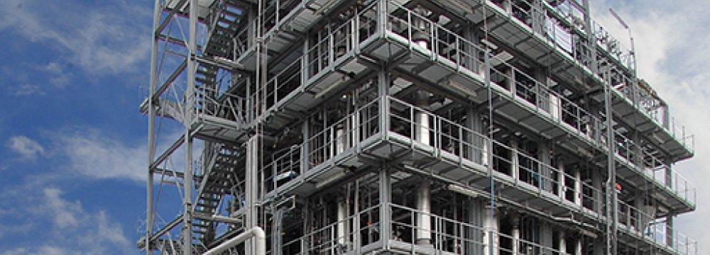 Mega Methanol Unit 65% Complete