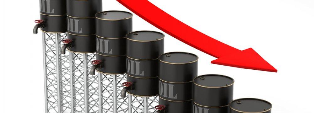 Oil Edges Lower