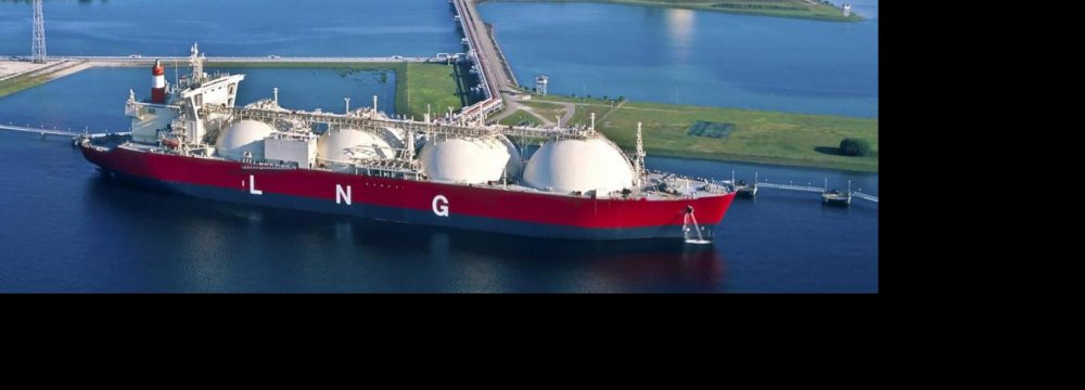 Talks Underway With  Shell to Build LNG Plants