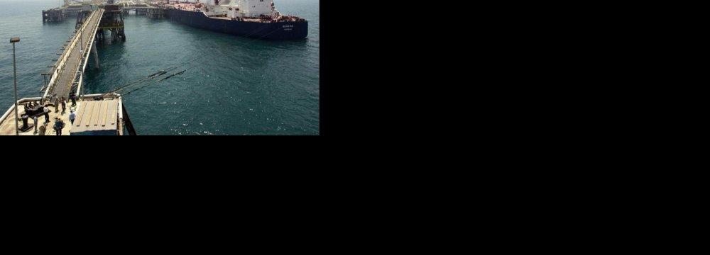 S. Korea Doubles crude imports from Iran