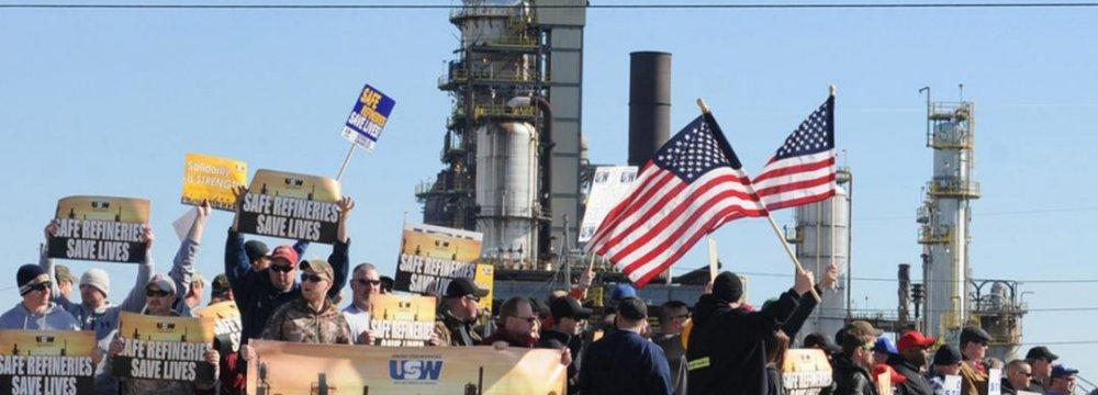 US Oil Strike