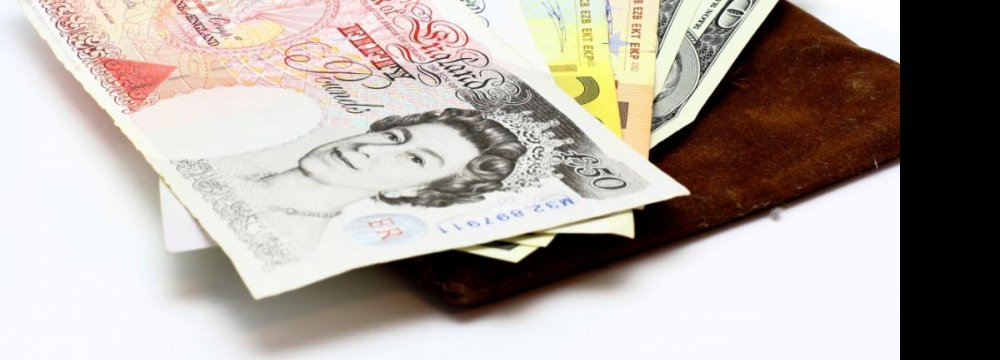 Sterling Official Rate Knocks Off 7-Month High