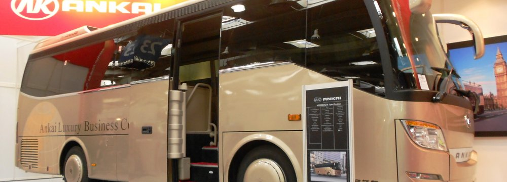 China to Export Buses to Iran