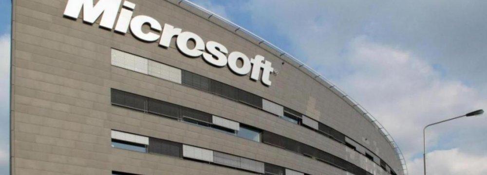 Microsoft Enters Iran