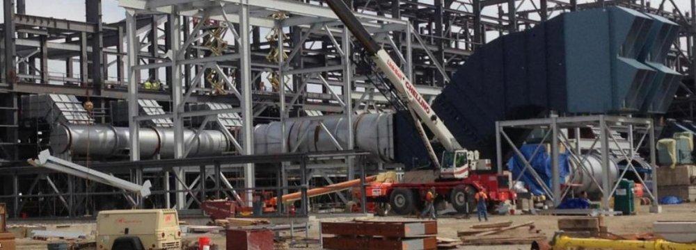 Plan to  Set Up  3 Steel Mills