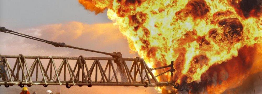 Explosion at Glisonite Mine