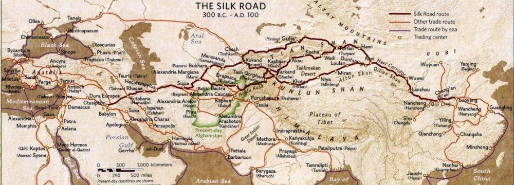 Silk Dragon Takes Iranian Road