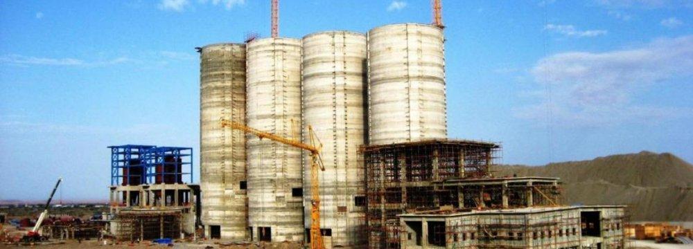 Cement Production Falls on Construction Slump