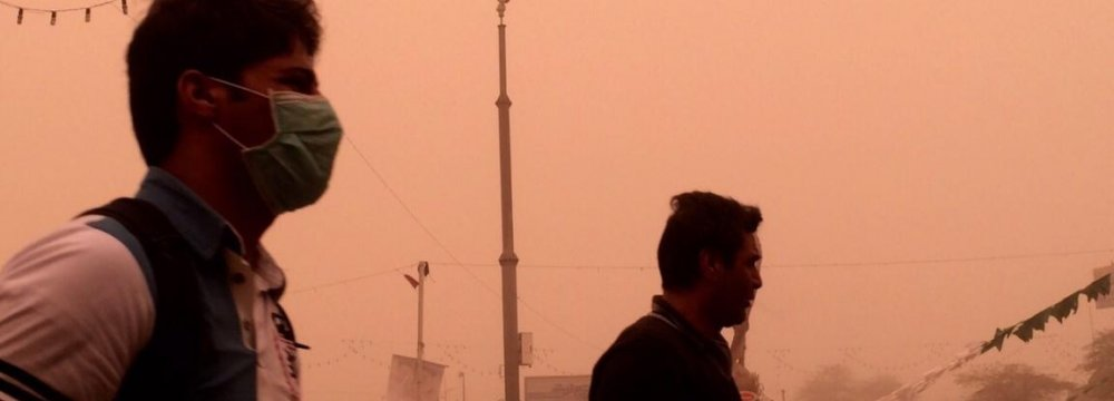 Ahvaz Pollution at Crisis Point
