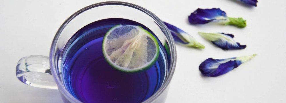 Borage Tea  With Dried Lime