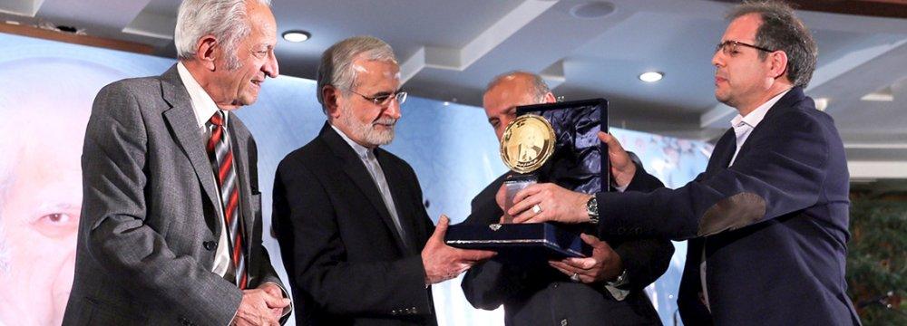 Khodadoust Honored  as a 'National Treasure'