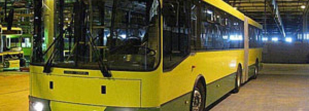 Hybrid Buses for Tehran