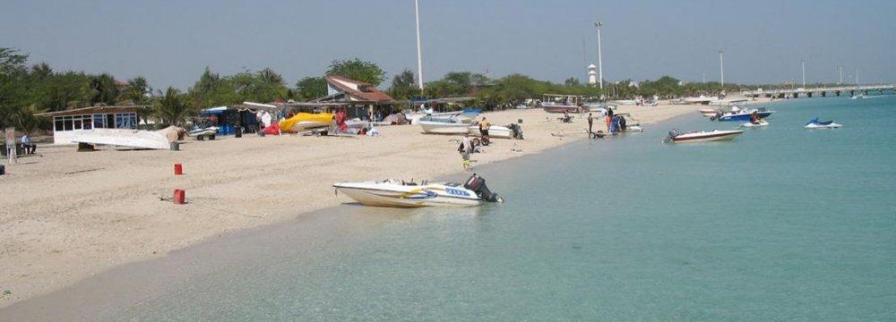 Developments on 4 Hormozgan Islands
