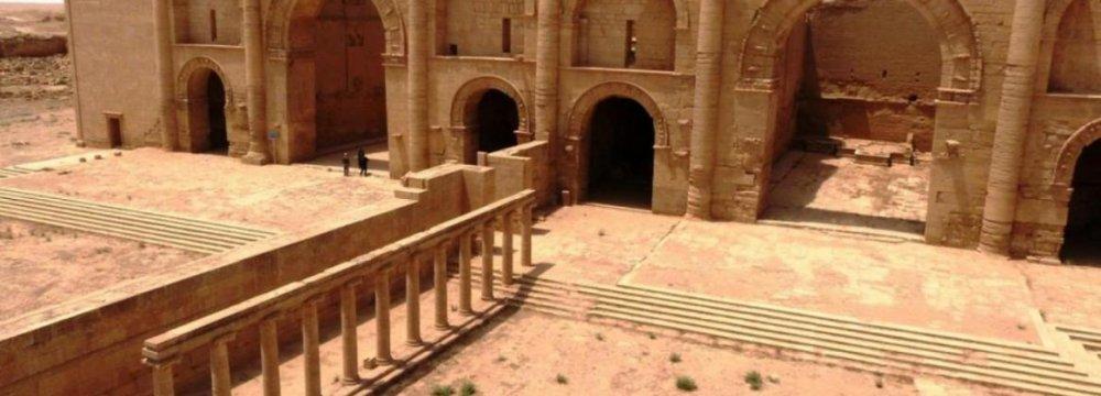 IS Militants Raze Ancient Hatra City