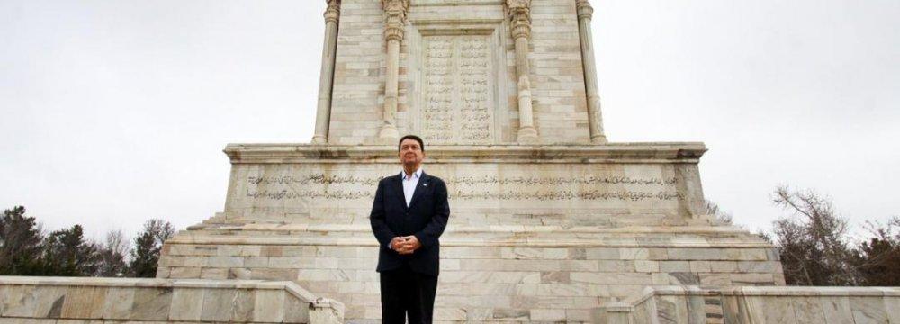 UNWTO's Rifai Tours Mashhad, Pledges Support