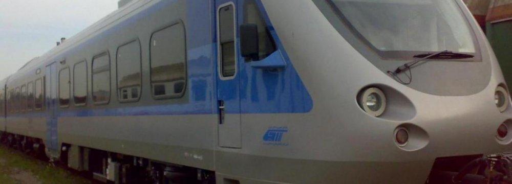 Tehran-Karaj Railbus