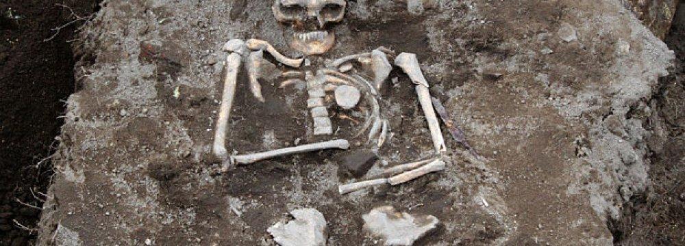 'Vampire Grave' in Bulgaria