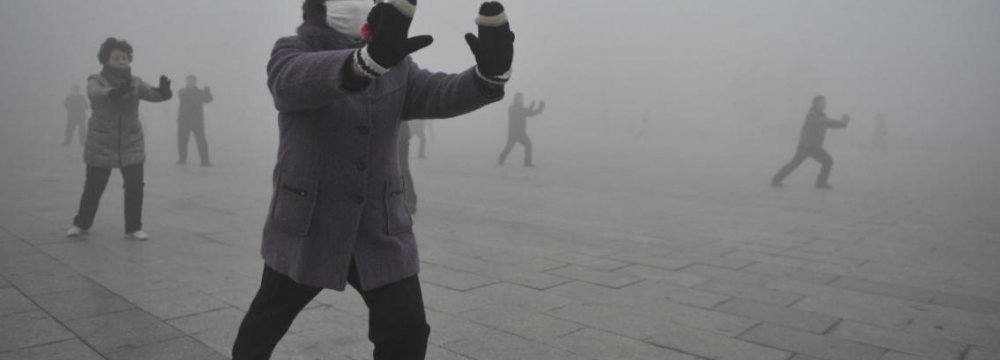 Smog in Northern China