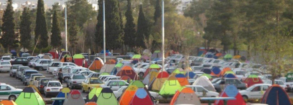 Temporary Camp Sites in Kurdistan
