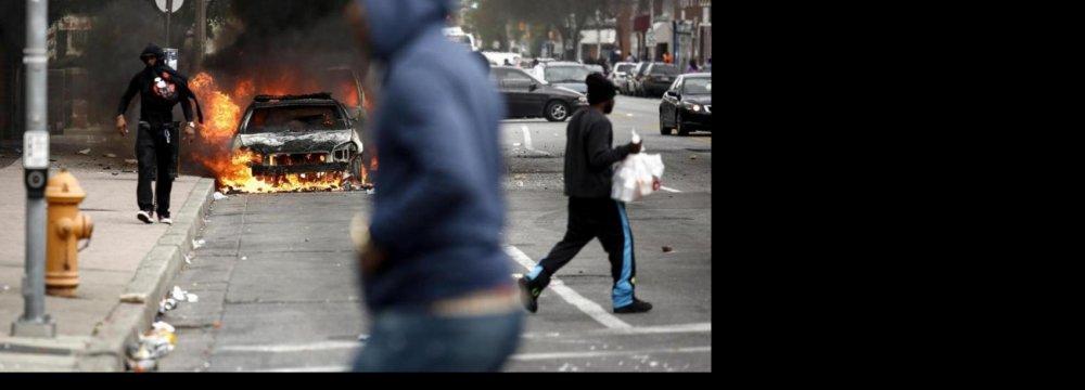 State of Emergency  as Baltimore Burns