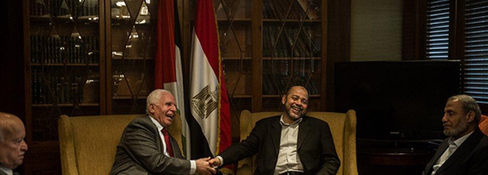Hamas, Fatah Agree  Unity Gov't Control Gaza