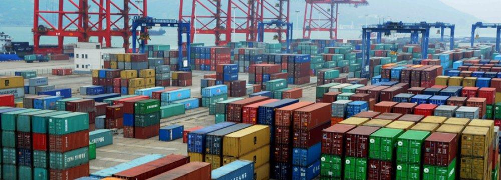 China Trade Surplus Up