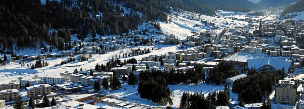 Euro Back in Davos Focus