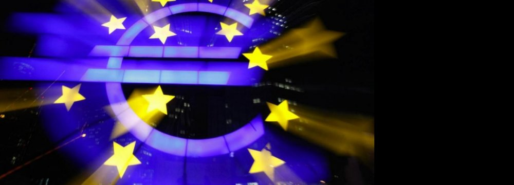 Eurozone's GDP Stable, Rose 0.2%