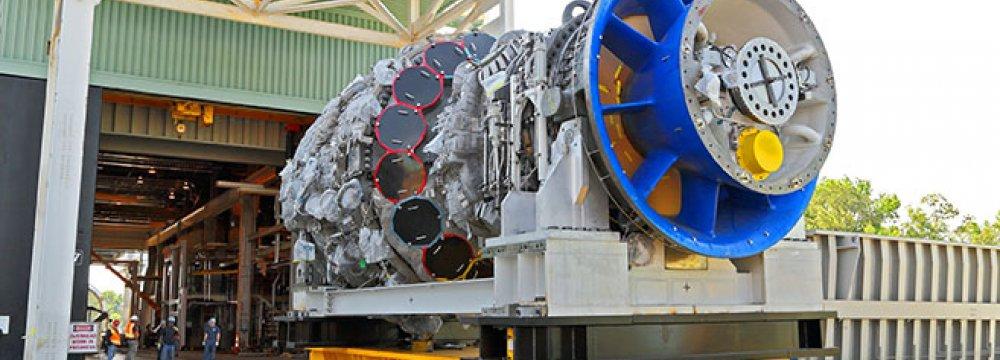 GE to Display World's Largest Gas Turbine