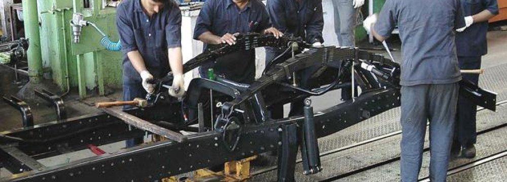 India Factory Output Rises