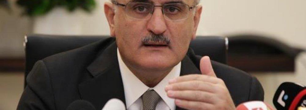 Lebanon Revenues Rise