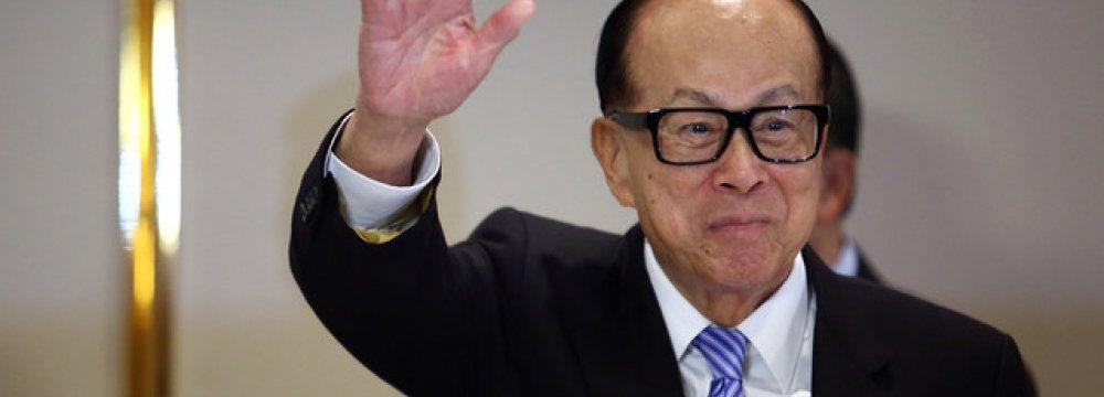 HK's Li to Reclaim Spot as Asia's Richest Person
