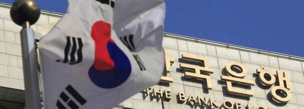 S. Korea Current A/C Surplus Reduces