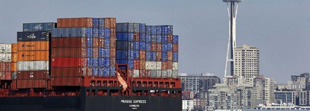 US Trade Gap Shrinks to $41.8b