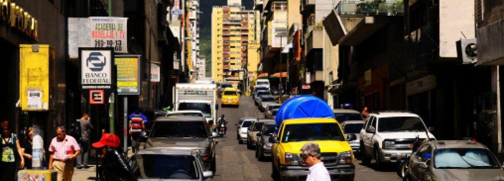 Venezuela Economy Spiraling Down