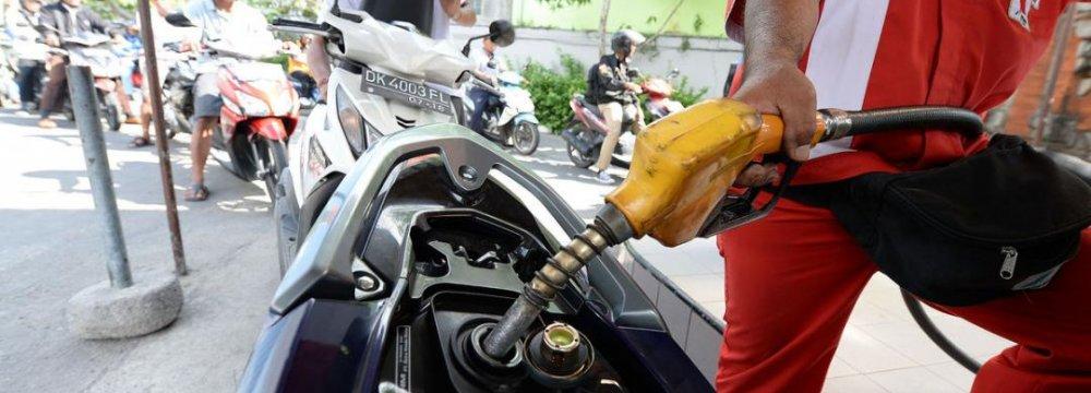 Change in Fuel Subsidies
