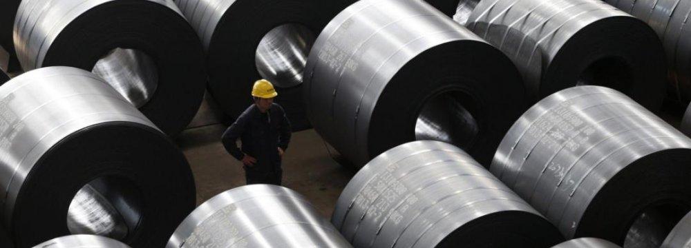 China Steel Consumption Shrinking