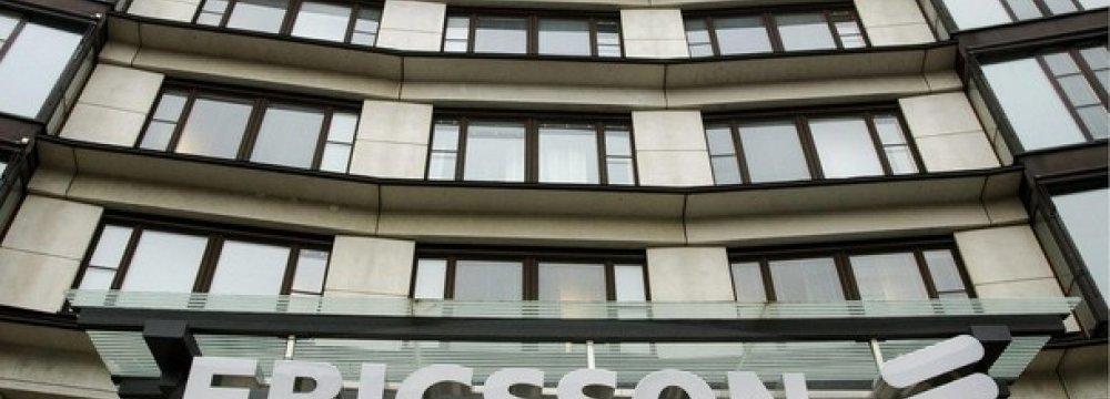 Ericsson Profits Drop