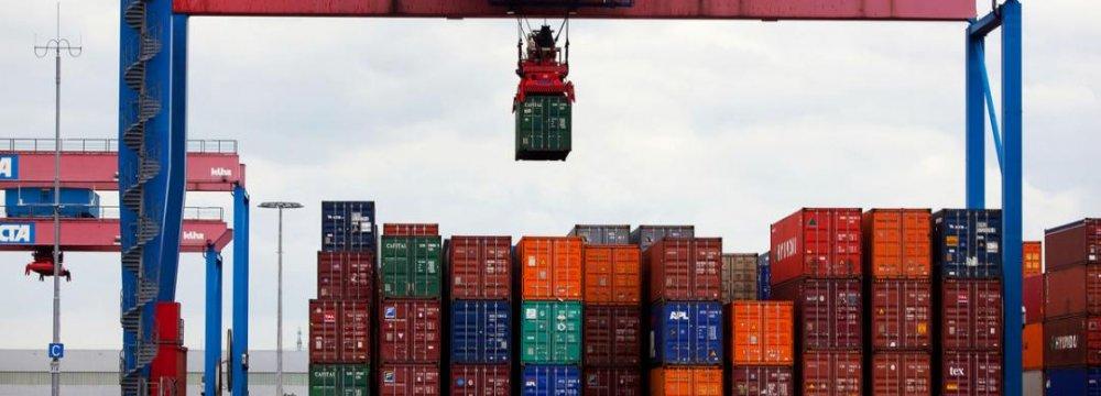 German Trade Surplus Up